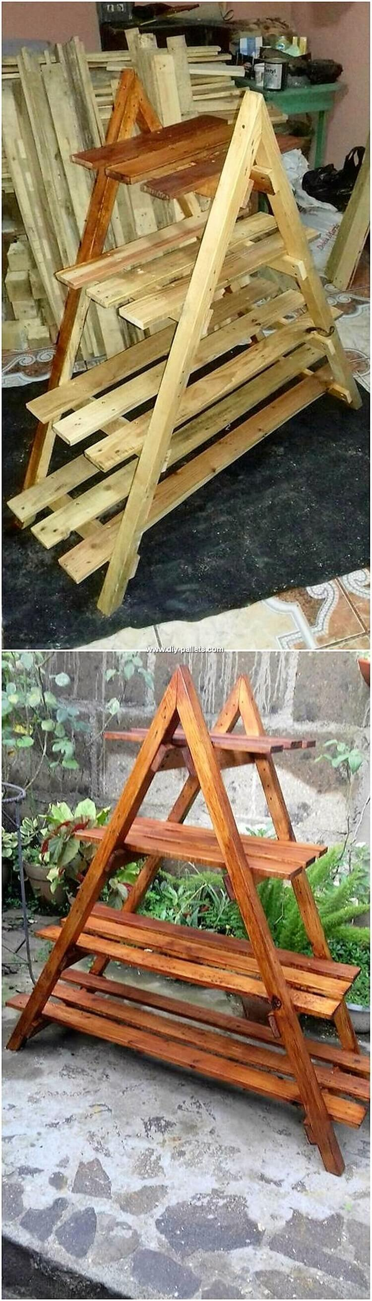 Pallet Shelving Stand