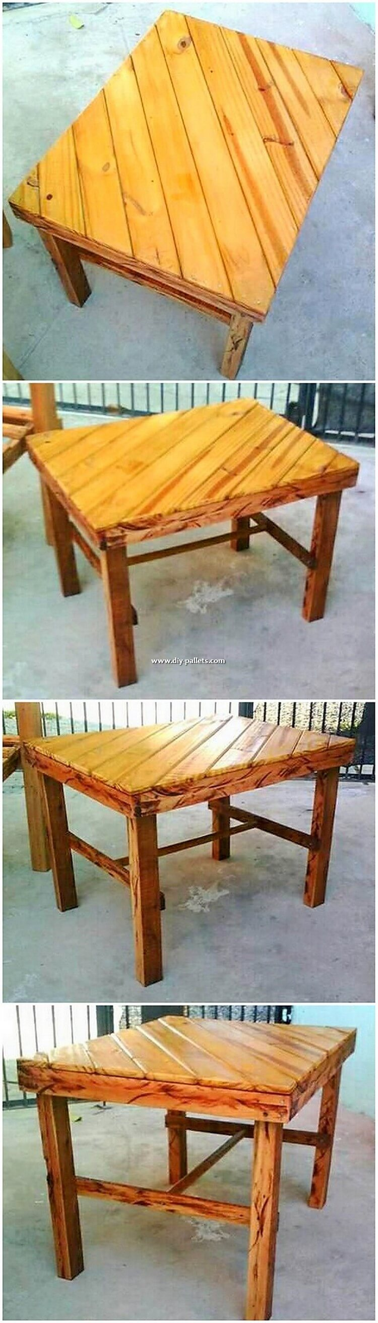 Wooden Pallet Table