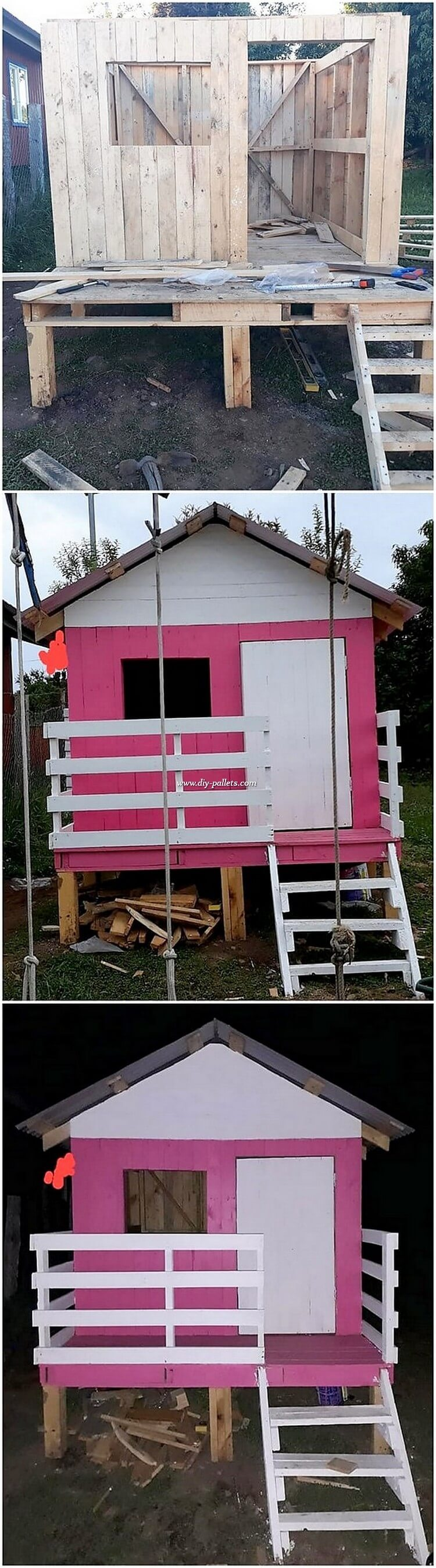 DIY Pallet House