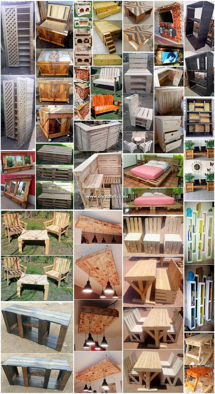 Modish Wood Pallet DIY Projects 2018