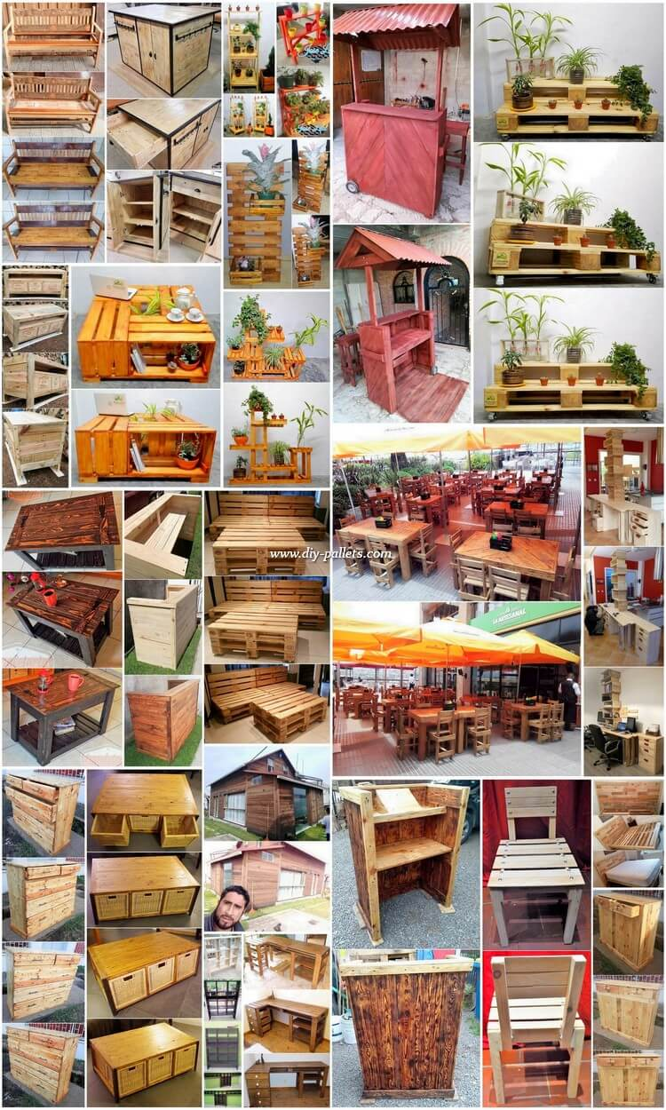 Ways That Pallets Can Be Recycle From Useless To Useful