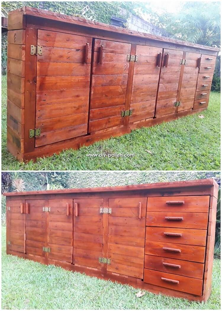 Giant Pallet Cabinet