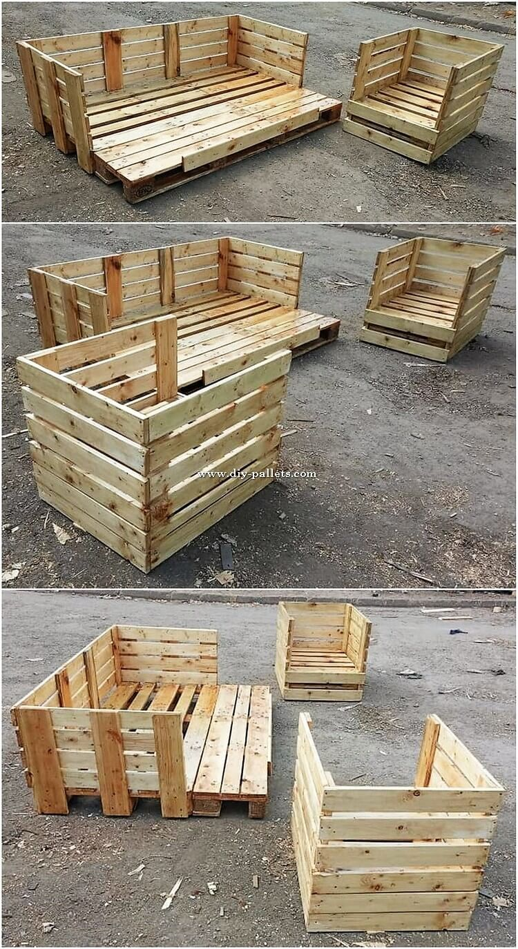Pallet Outdoor Furniture