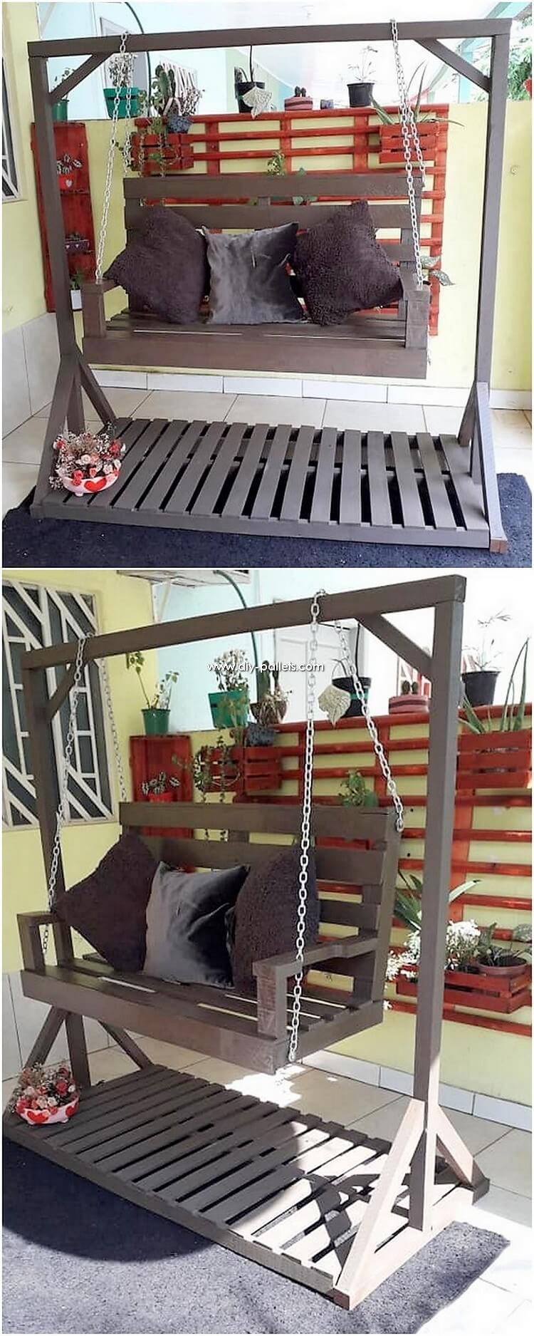 Pallet Swing Chair or Bench