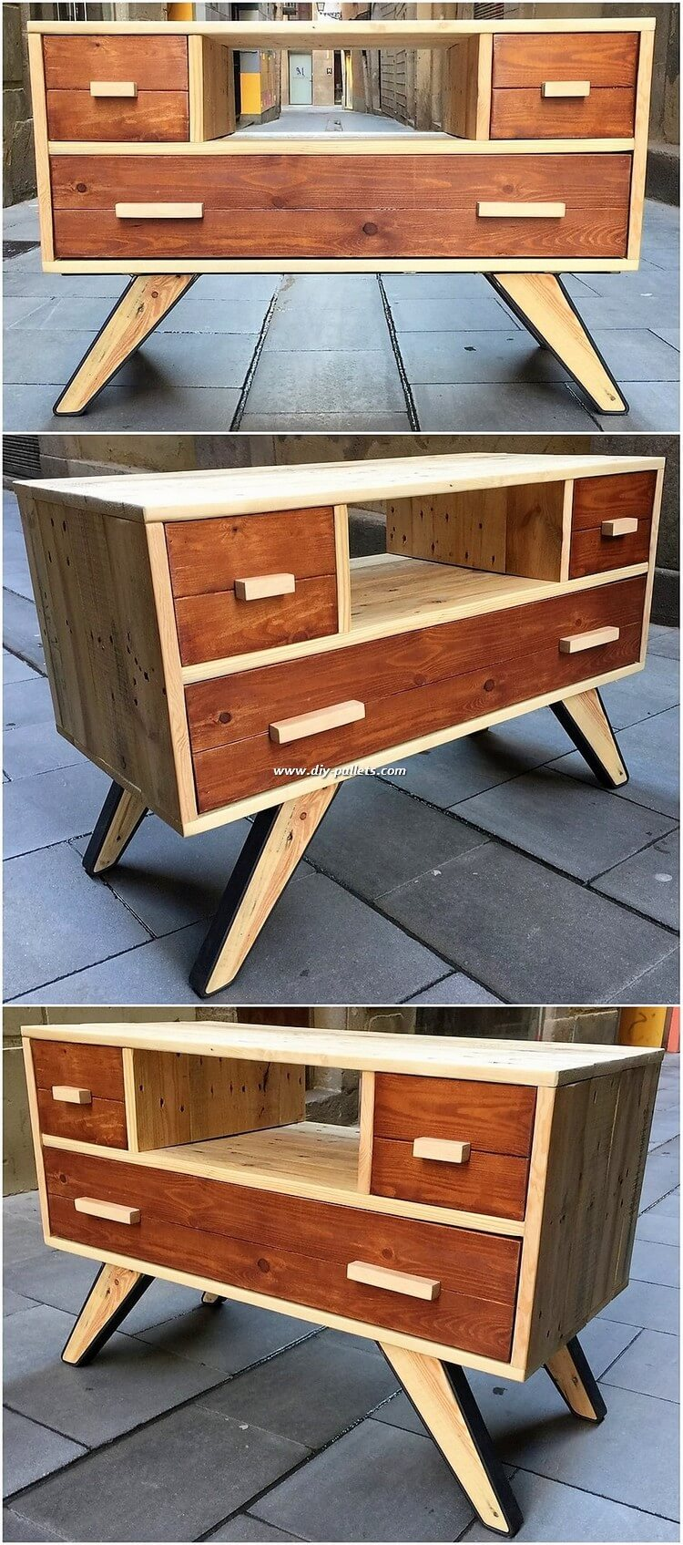 Pallet TV Stand or Cabient