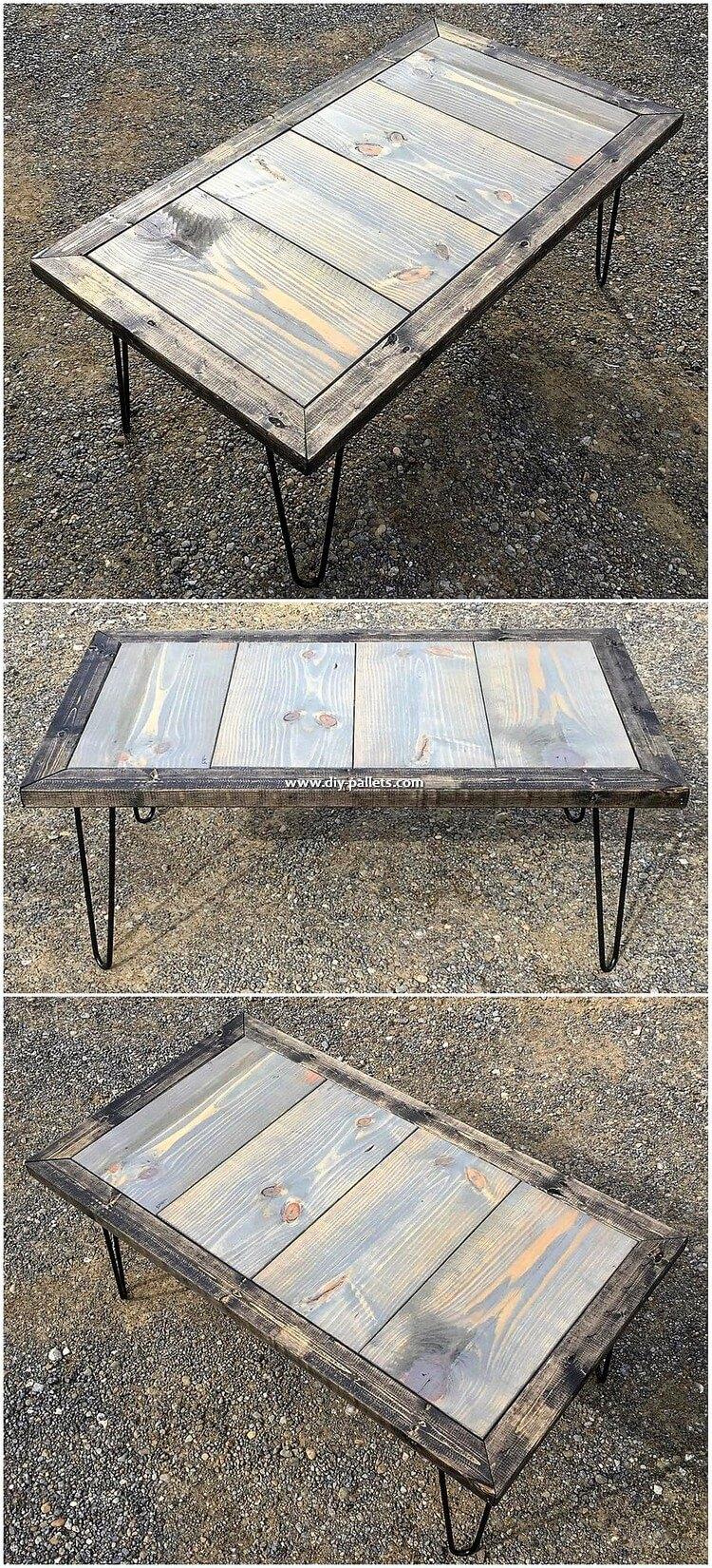 Pallet Table Plan