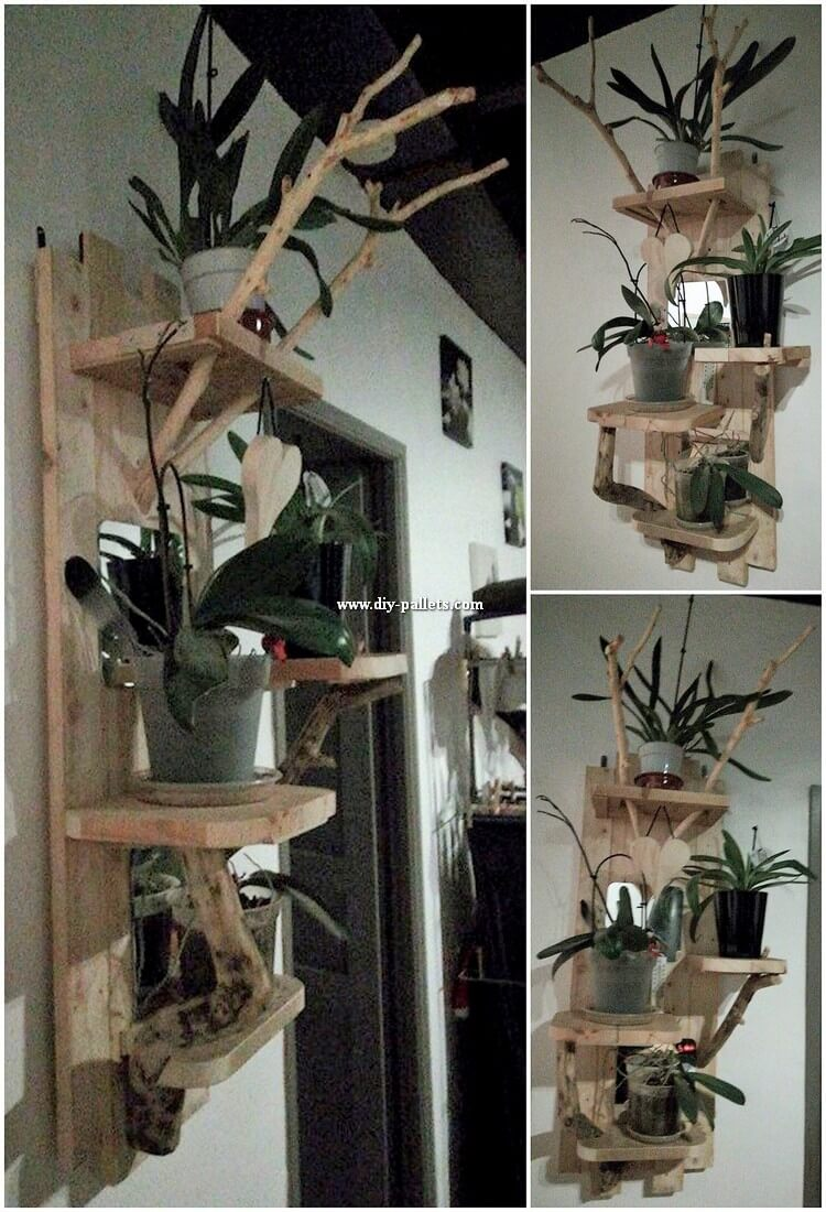 Pallet Wall Shelf