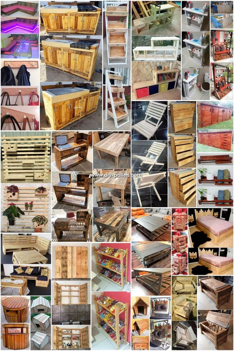 What to Make with Wood Pallets