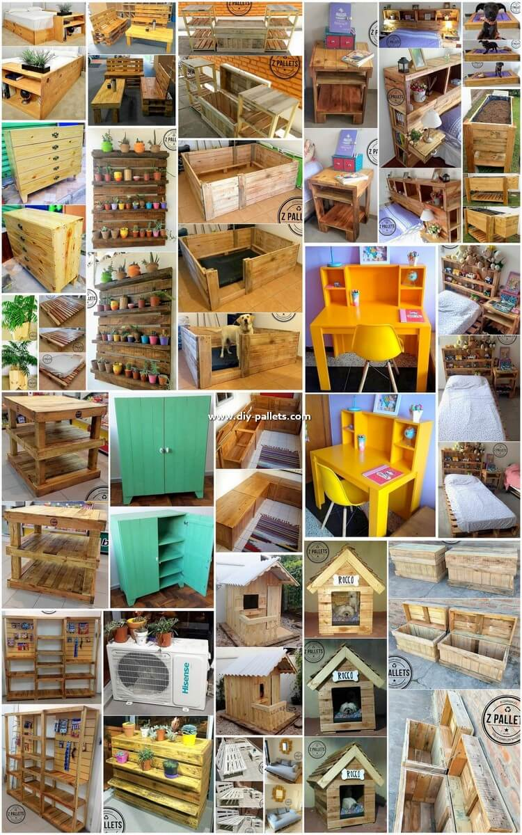 Artistic DIY Ideas to Give Old Pallets New Look