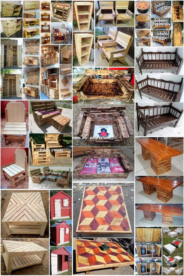 Extraordinary Useful DIY Pallet Craft Ideas