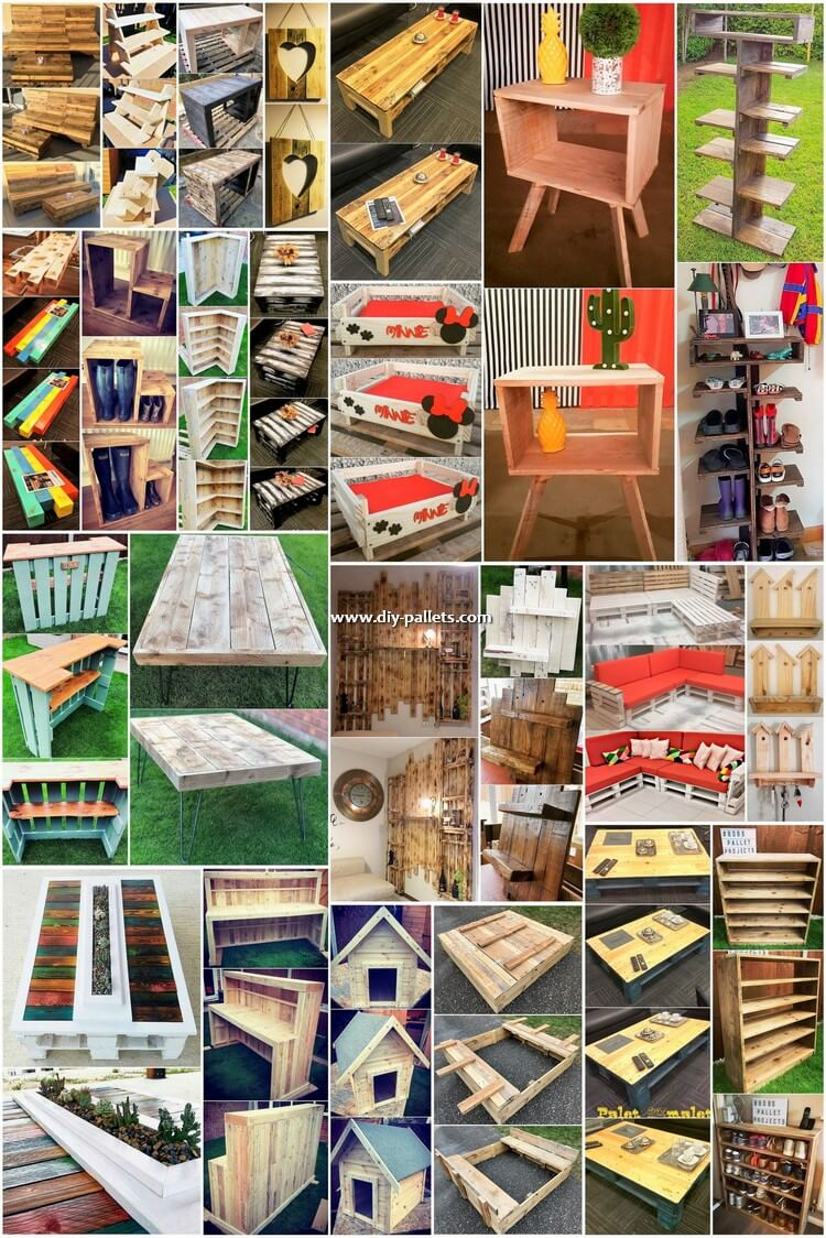 Top 25 New and Awesome DIY Wood Pallet Projects