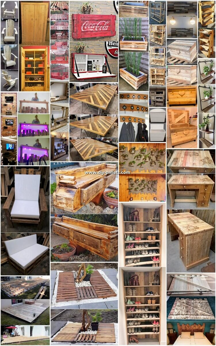 Unbelievable DIY Recycled Wooden Pallet Ideas