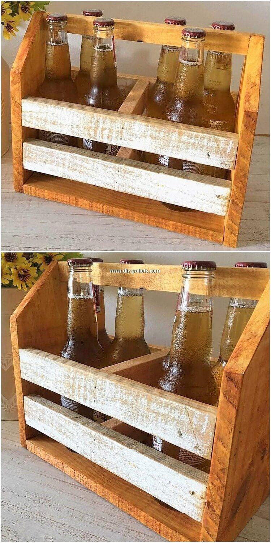 Pallet Bottles Storage