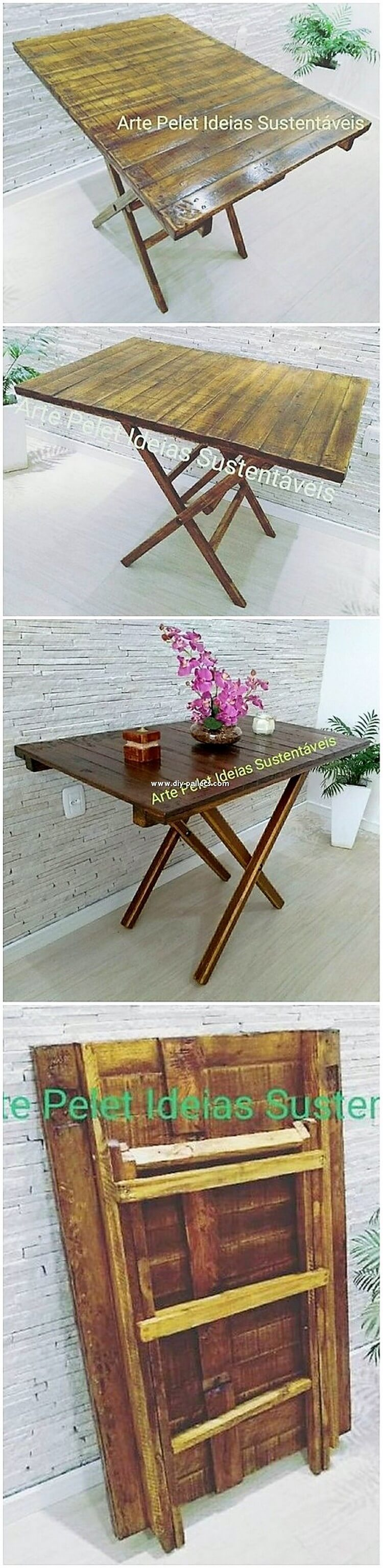 Pallet Folding Table