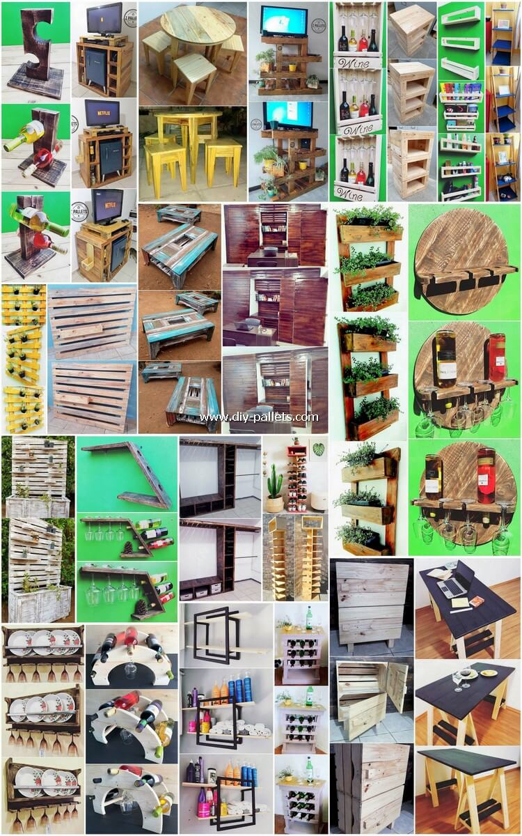 Reshaping Ideas for Recycled Old Wooden Pallets