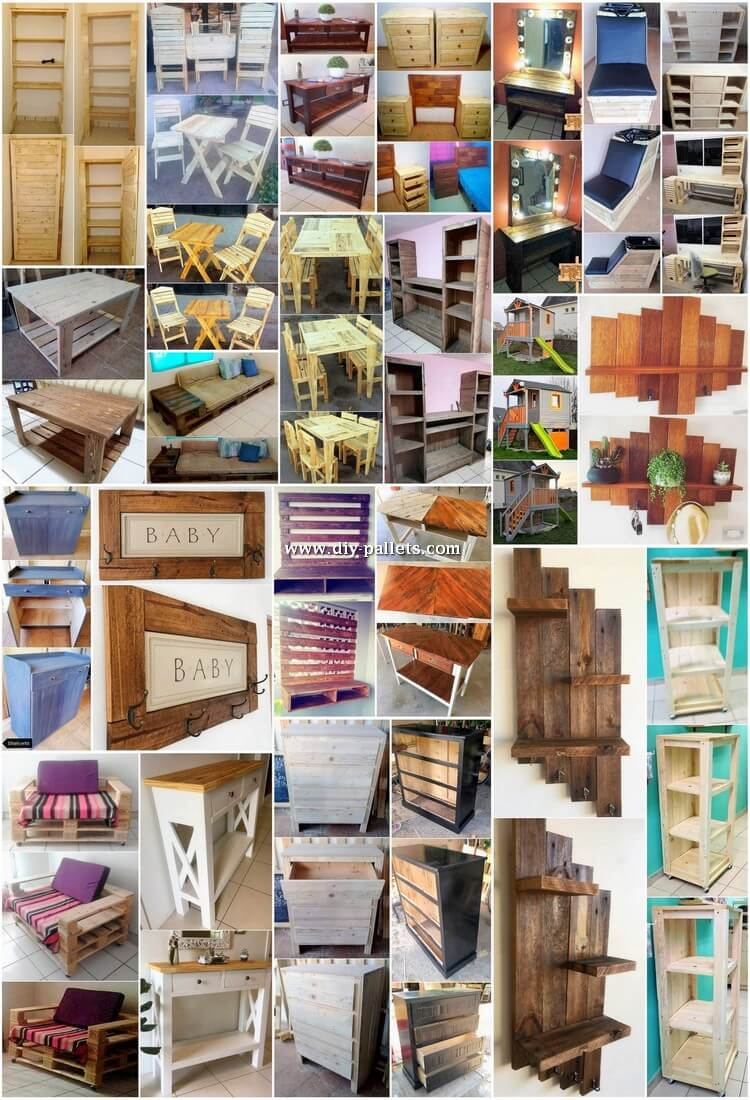 Superb Wood Pallet DIY Ideas You Can Make at Home