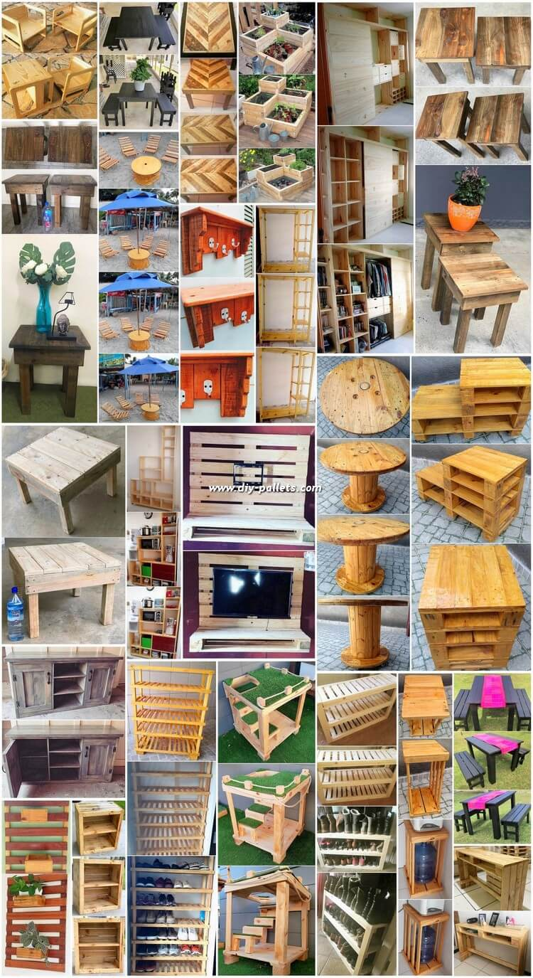 Stunning Diy Projects With Scraped Wood Pallets Diy Pallet Creations