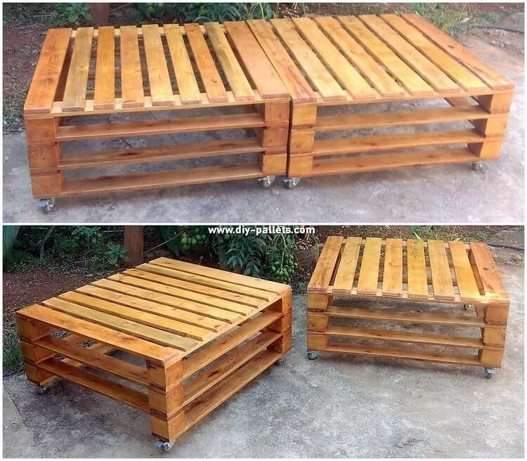 Pallet Bed or Tables