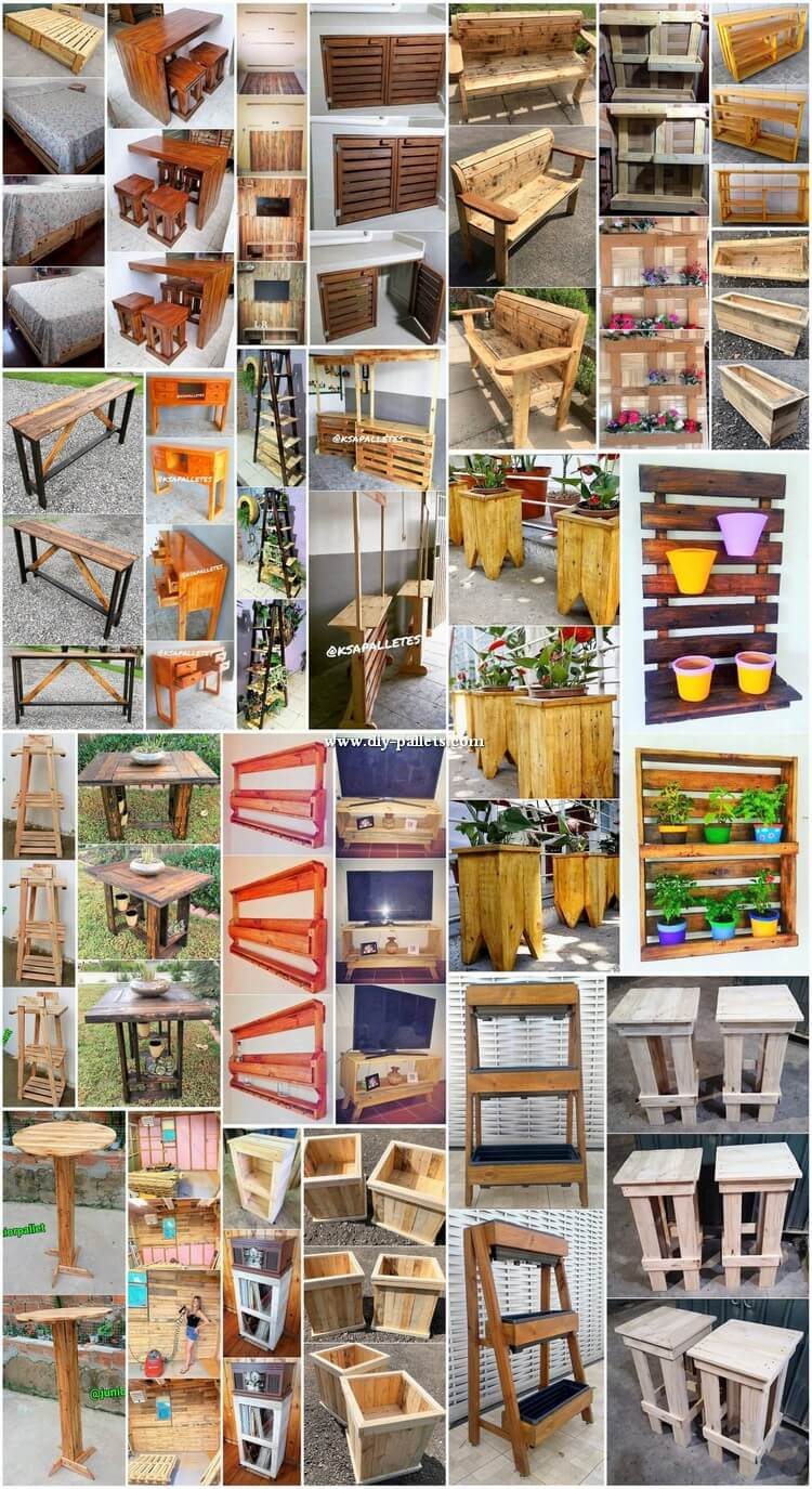 Gorgeous DIY Wood Shipping Pallet Projects