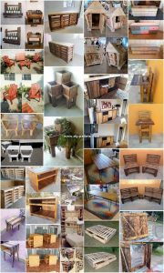 Amazing Wood Pallet Reusing Ideas and Projects