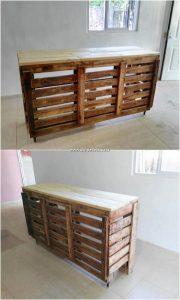 Pallet Desk Table