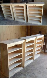 Pallet Shelving Cabinets