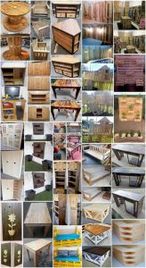 Creative DIY Projects of Old Wood Pallets Recycling