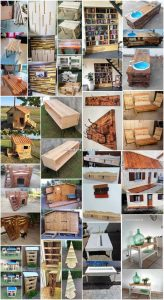 Creative and Nice Ideas with Recycled Wood Pallets