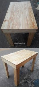 Recycled Pallet Table