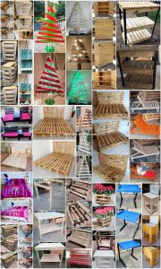 DIY Pallet Creations Made with Old Wood Pallets