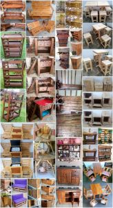 DIY Projects Made with Repurposed Wood Pallets