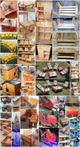 Incredible DIY Projects from Recycled Wood Pallets