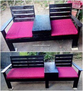 Pallet Double Bench