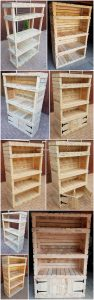 DIY Pallet Shelving Cabinet Step by Step Plan