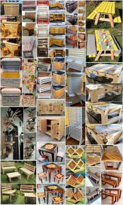 Great DIY Wood Pallet Ideas and Furniture Designs
