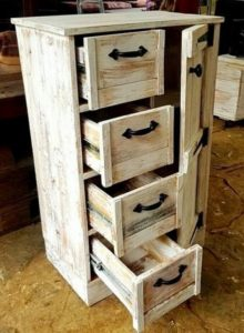 Pallet Chest of Drawers (2)