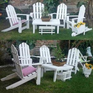 Pallet Garden Furniture Set