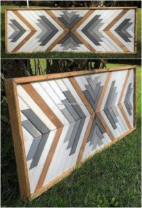 Wood Pallet Decor Creation