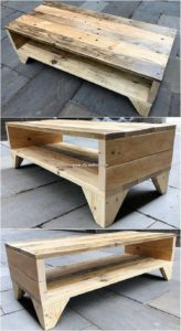 Wood Pallet TV Stand