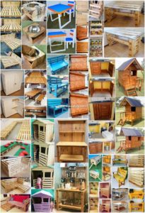 Fantastic DIY Crafting Ideas with Wood Pallets