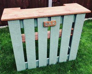 Pallet Bar Counter