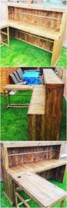Pallet Garden Counter Table