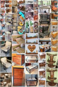 Artistic DIY Ideas with Scraped Wood Pallets