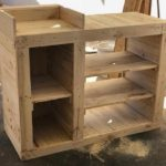 Pallet Shelving Counter Table