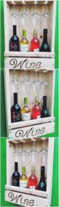 Pallet Wine Rack Idea