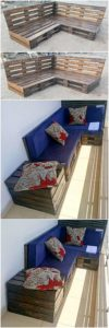 Wood Pallet Couch and Table