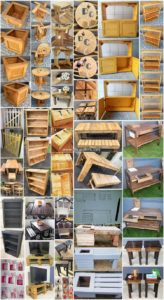 Fascinating DIY Ideas to Reuse Old Wooden Pallets