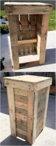 Pallet Mini Counter Table