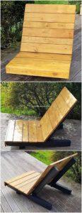 Pallet Sun Lounge Chair