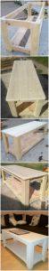 DIY Wood Pallet Table